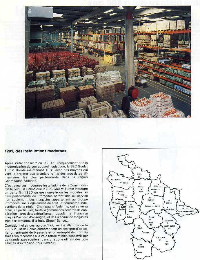 PROMODES GOULET-TURPIN 1981