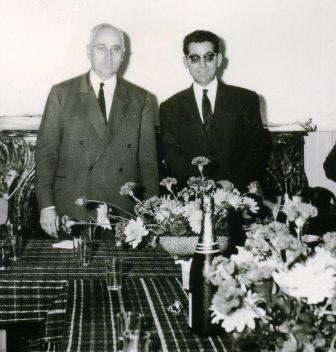 GEORGE GOULET ET RENE PERES 1964
